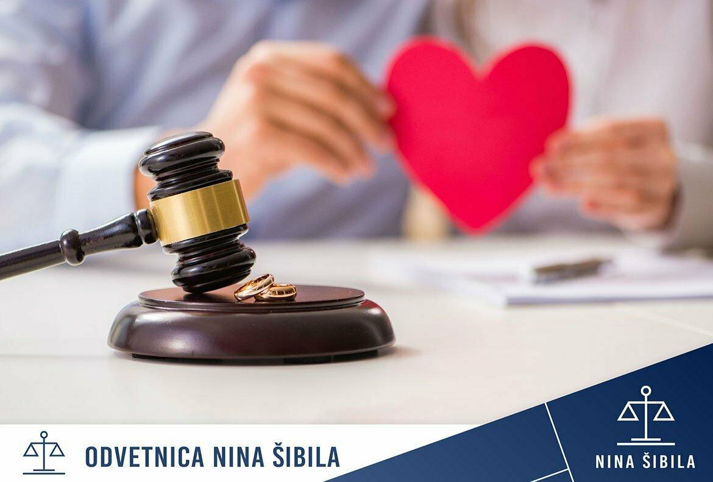 predporočna pogodba ob ločitvi