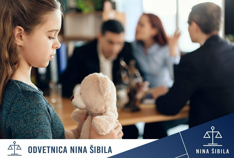 deljeno skrbništvo nad otroki in otroški dodatek